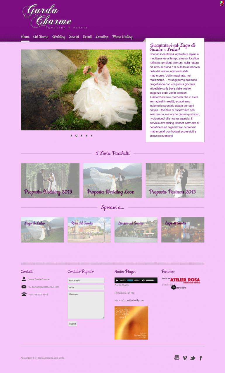home | Garda Charme Wedding & Events